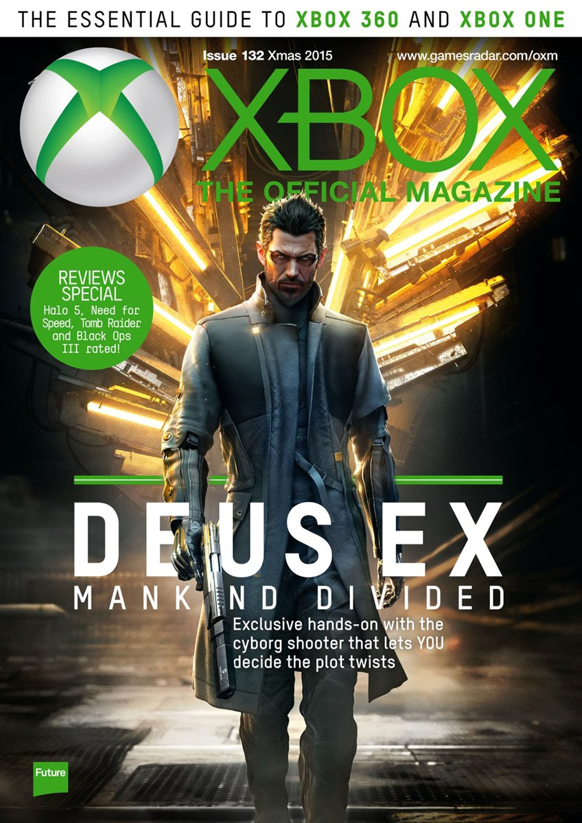 XBOX The Official Magazine Issue 132 Xmas 2015