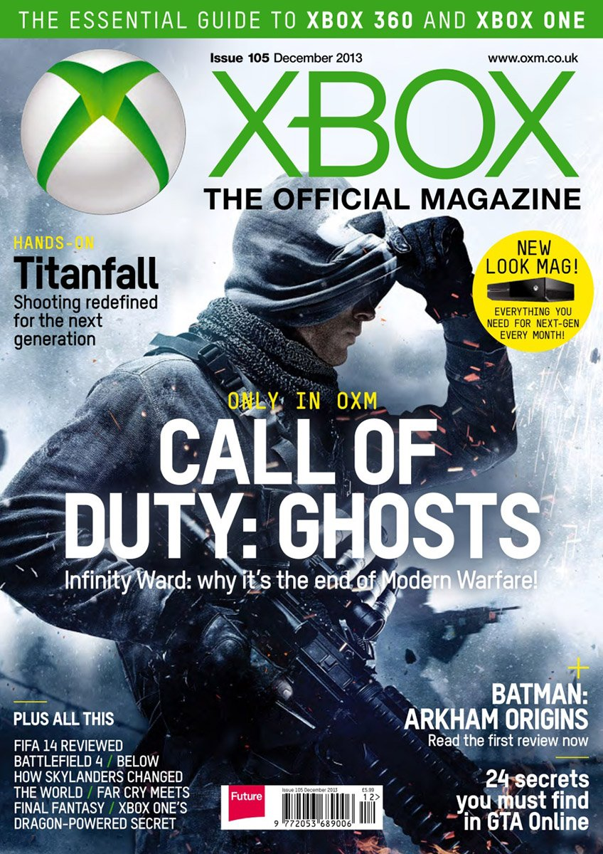 XBOX The Official Magazine Issue 105 December 2013