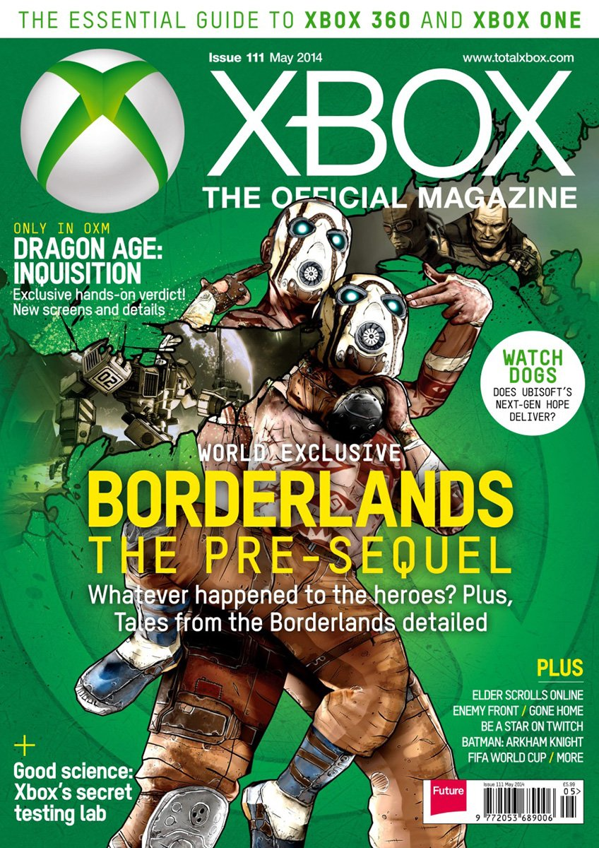 XBOX The Official Magazine Issue 111 May 2014