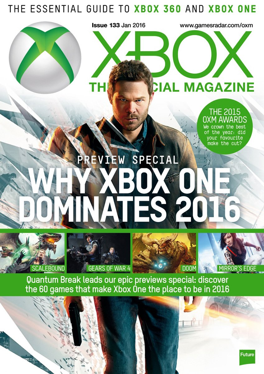 XBOX The Official Magazine Issue 133 January 2016