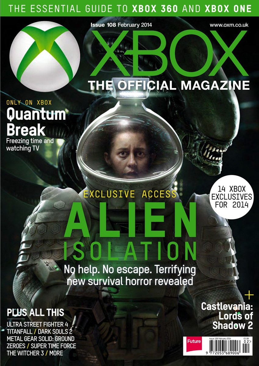 XBOX The Official Magazine Issue 108 February 2014