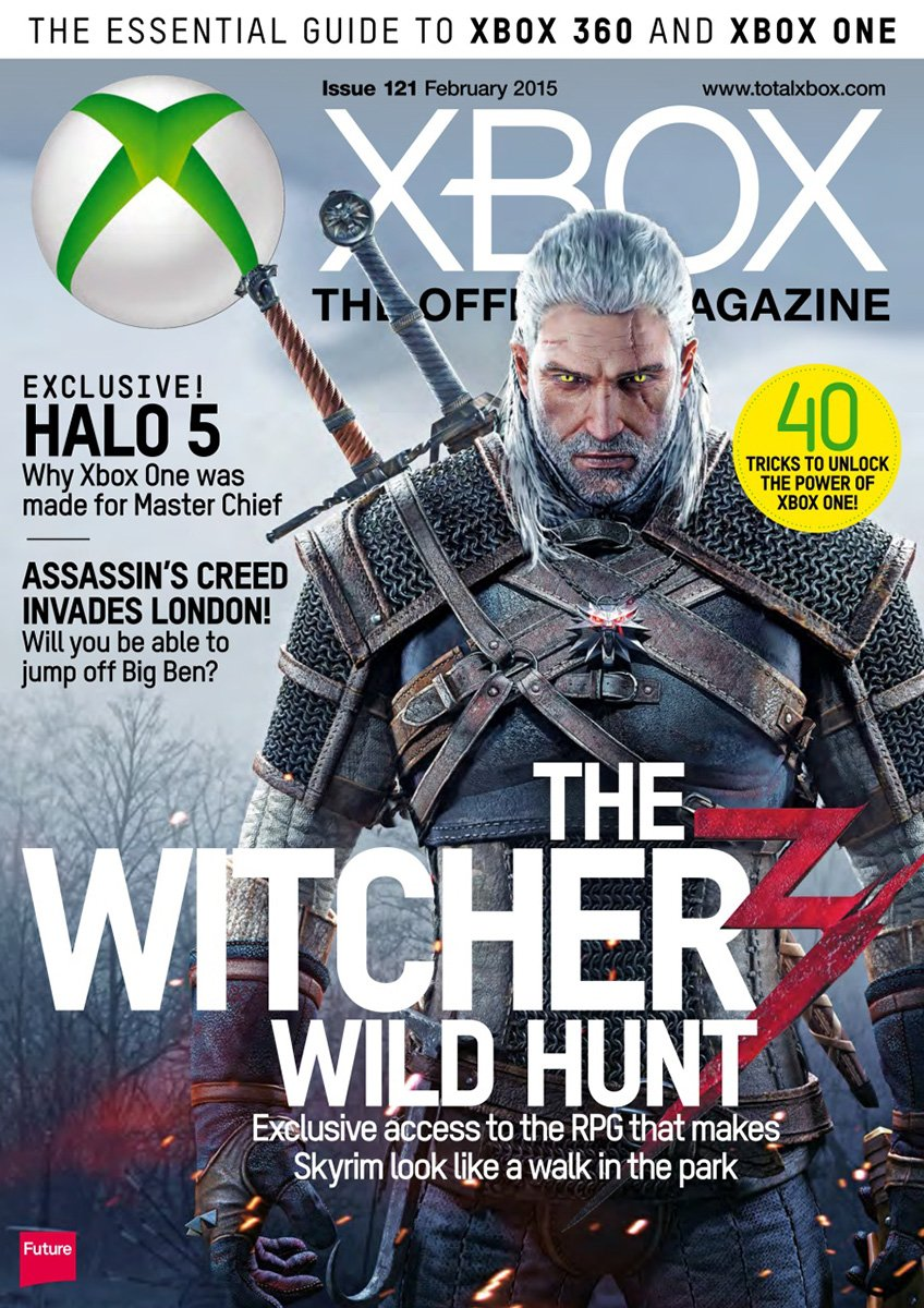 XBOX The Official Magazine Issue 121 February 2015