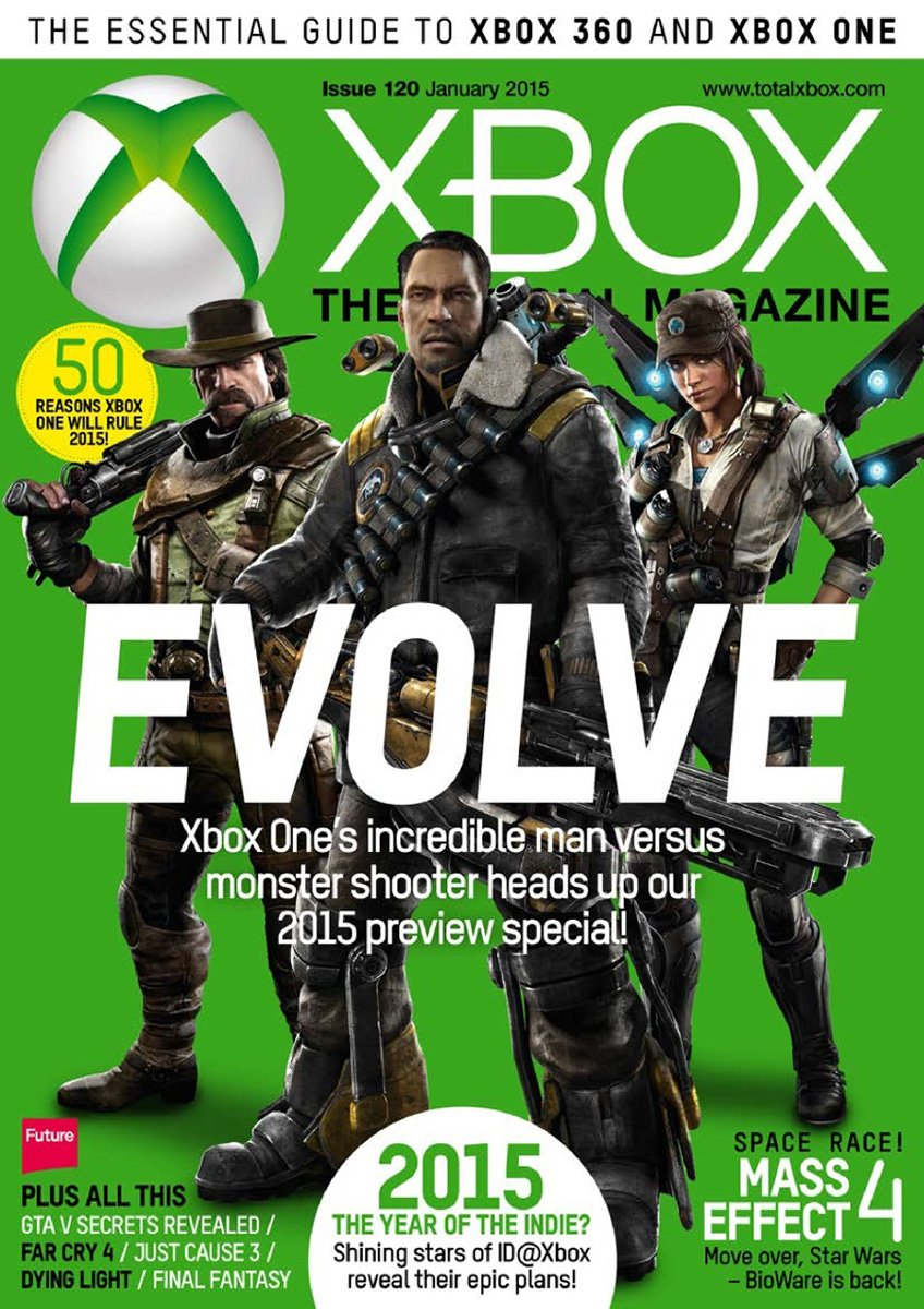 XBOX The Official Magazine Issue 120 January 2015