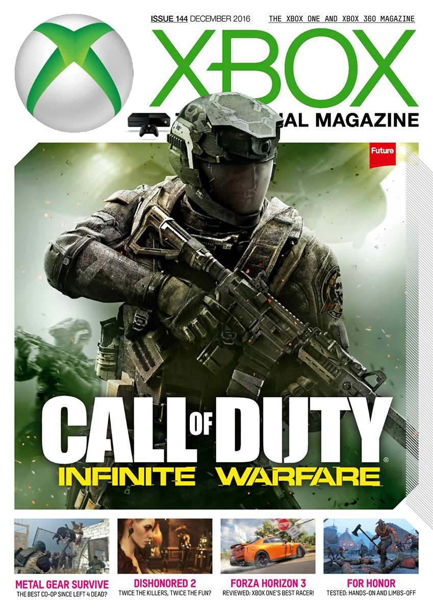 XBOX The Official Magazine Issue 144 December 2016