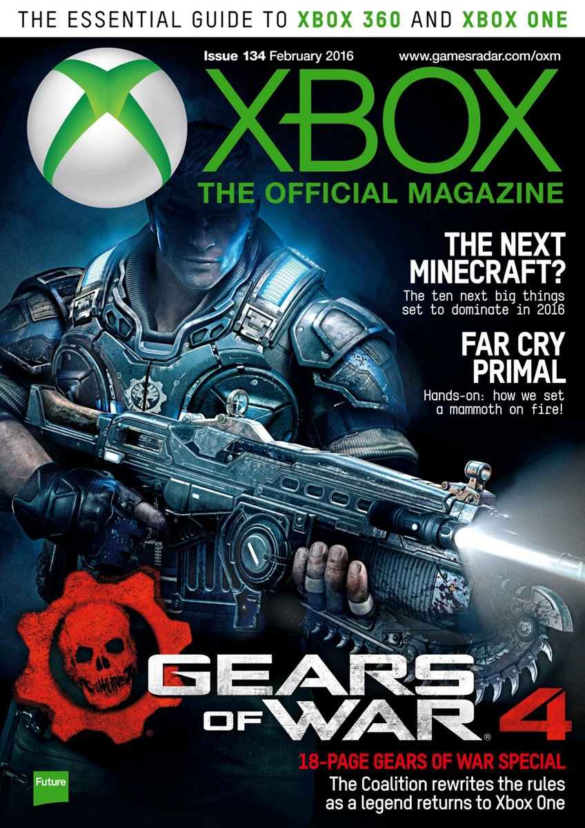 XBOX The Official Magazine Issue 134 February 2016