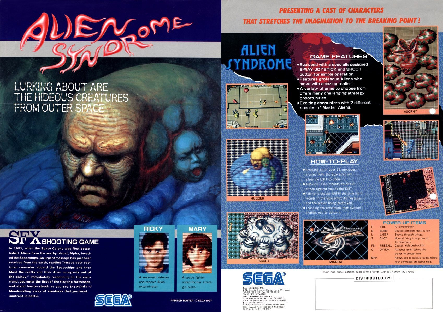 Alien Syndrome (1987)