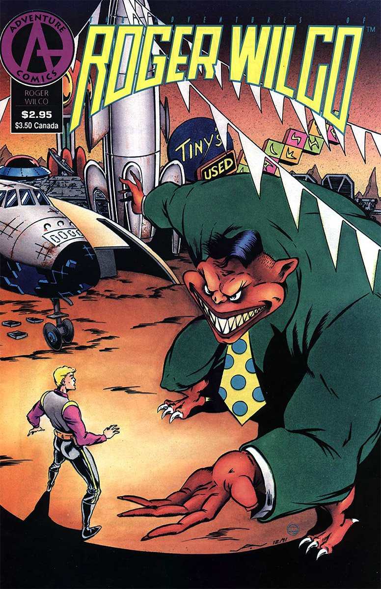 The Adventures of Roger Wilco Issue 02 (April 1992)