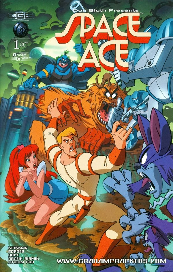 Space Ace Issue 01 (Graham Crackers variant) (September 2009)