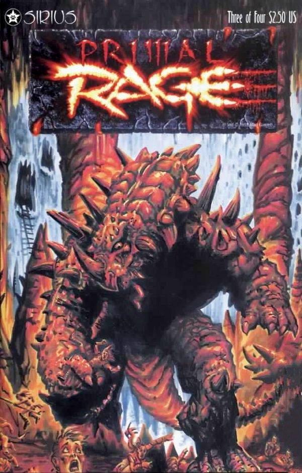 Primal Rage Issue 03 (December 1996)