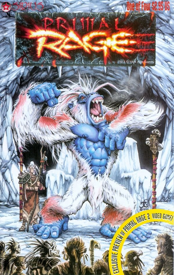 Primal Rage Issue 01 (August 1996)