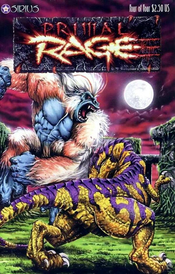 Primal Rage Issue 04 (February 1997)