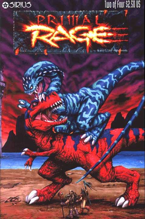 Primal Rage Issue 02 (October 1996)