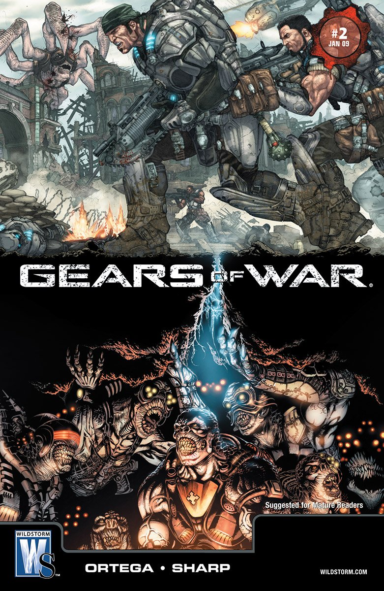 Gears of War Issue 002 (January 2009)