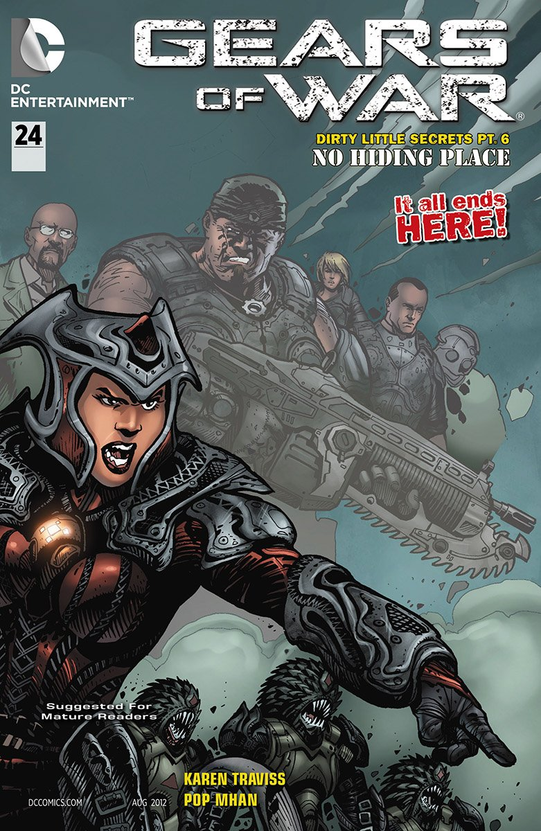 Gears Of War Issue 024 (August 2012)