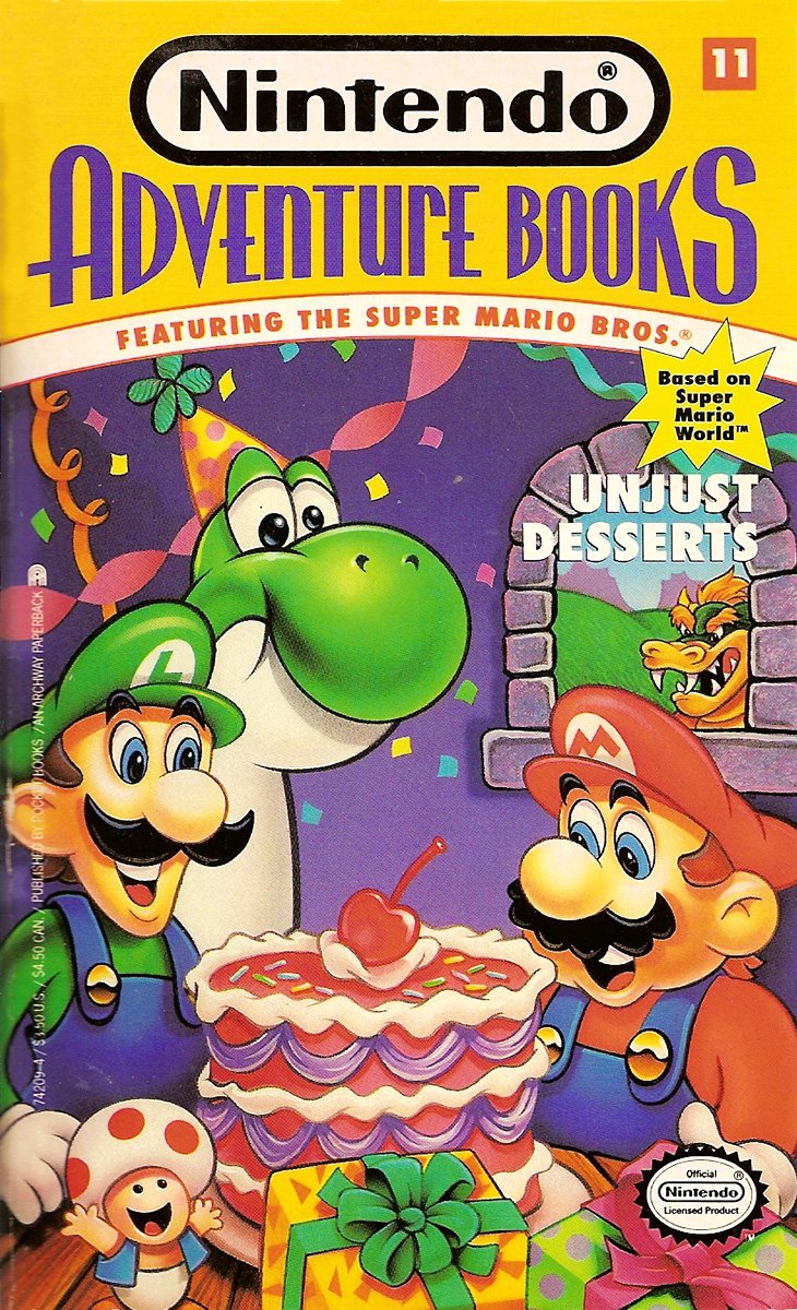 Nintendo Adventure Books 11: Unjust Desserts (March 1992)
