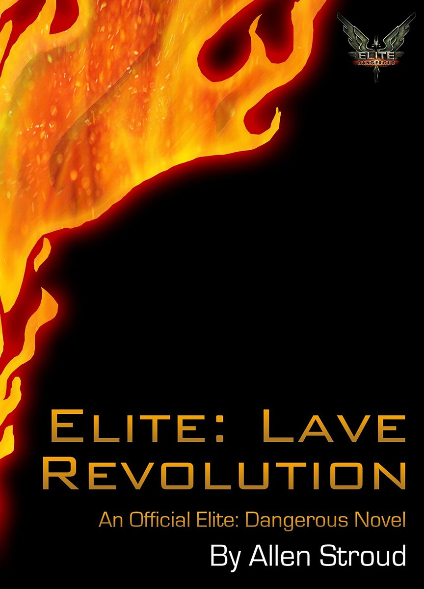 Elite Dangerous: Lave Revolution (e-book cover) (May 2014)