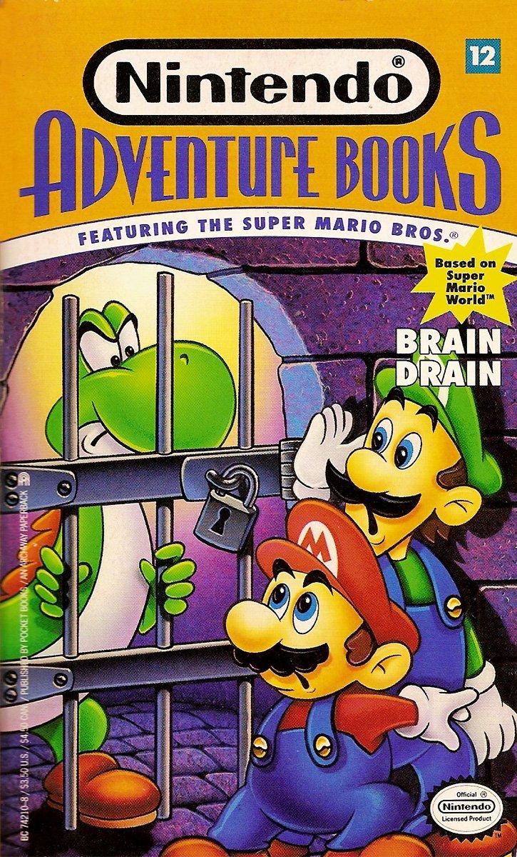 Nintendo Adventure Books 12: Brain Drain (April 1992)