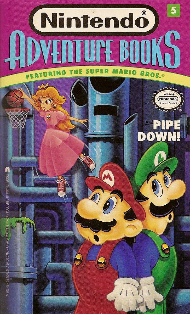 Nintendo Adventure Books 05: Pipe Down (September 1991)