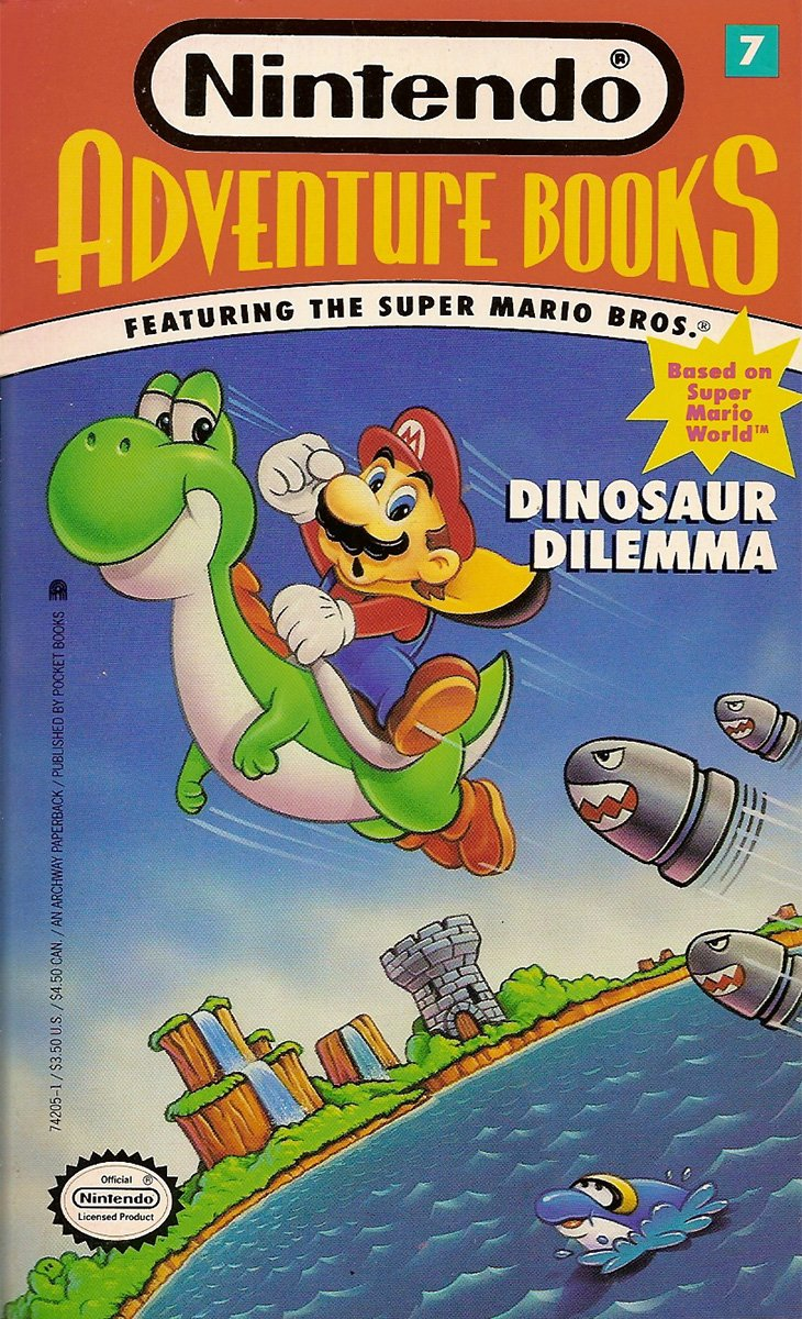 Nintendo Adventure Books 07: Dinosaur Dilemma (November 1991)