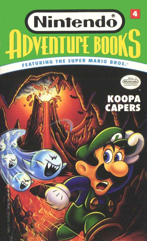 Nintendo Adventure Books 04: Koopa Capers (August 1991)