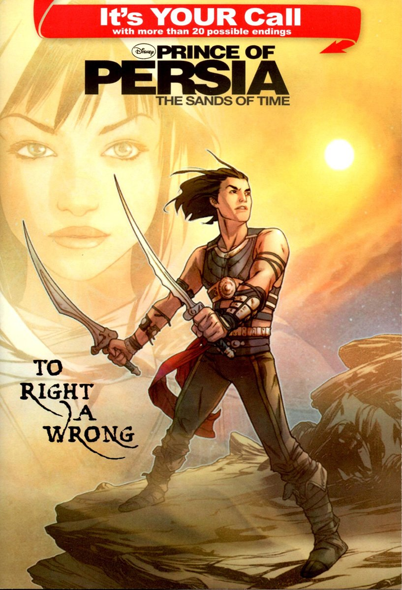 Prince Of Persia: The Sands Of Time - To Right A Wrong (April 2010)