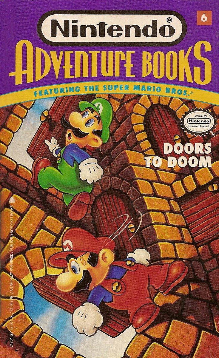 Nintendo Adventure Books 06: Doors To Doom (October 1991)