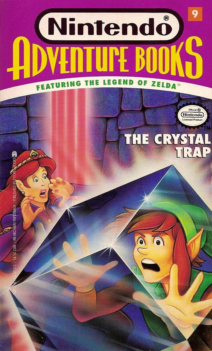 Nintendo Adventure Books 09: The Crystal Trap (January 1992)