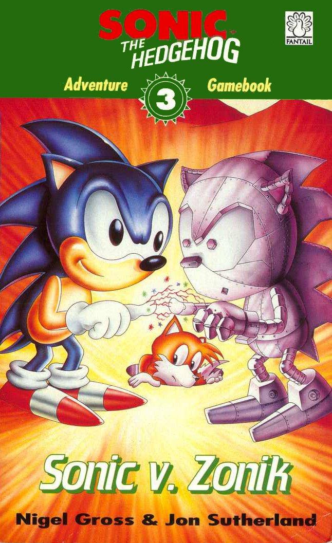 Sonic The Hedgehog: Adventure Gamebook 3 - Sonic V. Zonik (1994)