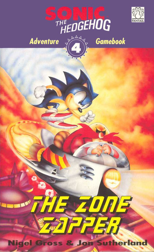 Sonic The Hedgehog: Adventure Gamebook 4 - The Zone Zapper (1994)