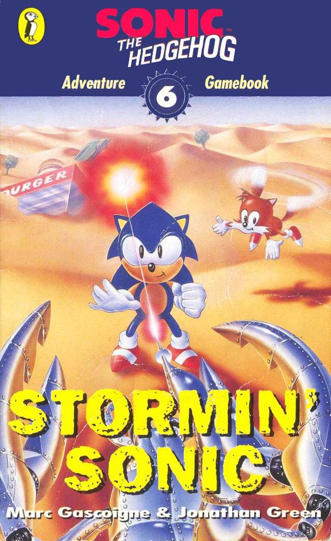 Sonic The Hedgehog: Adventure Gamebook 6 - Stormin' Sonic (1996)