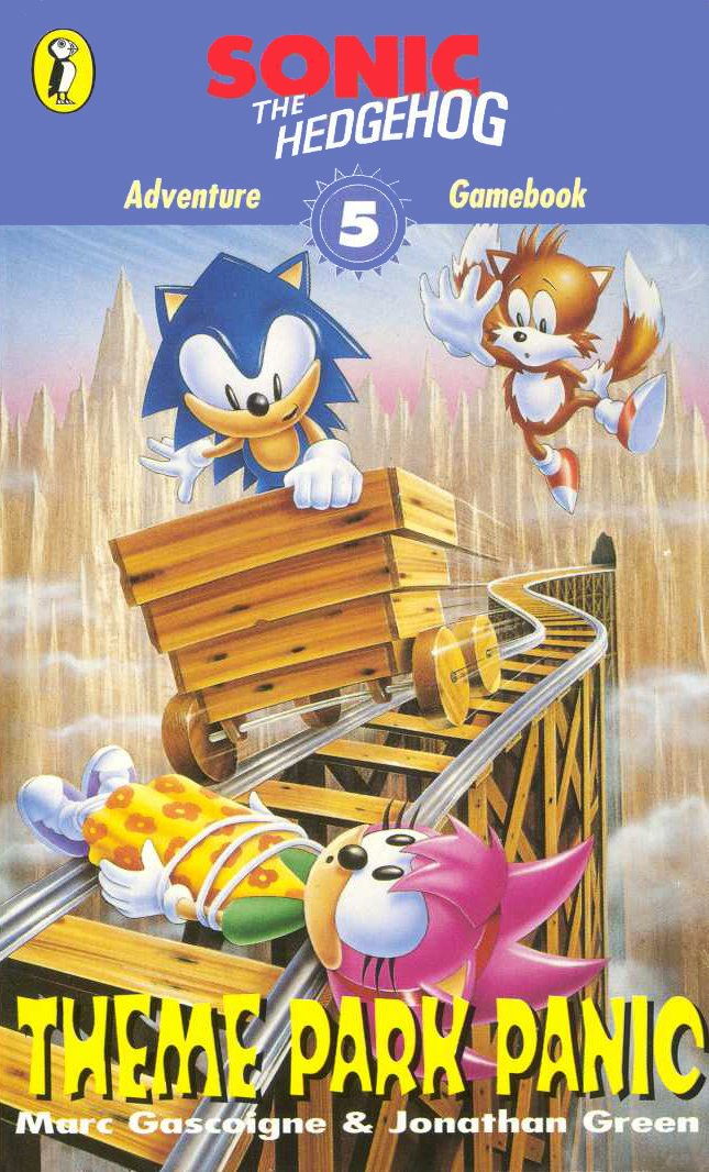 Sonic The Hedgehog: Adventure Gamebook 5 - Theme Park Panic (1995)
