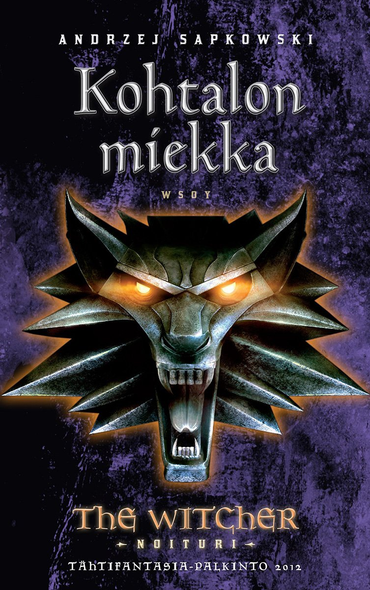 The Witcher: Sword Of Destiny (Finnish edition)