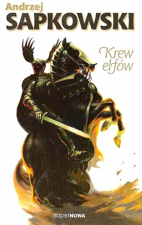 The Witcher: Blood Of Elves (Polish 2000 edition)