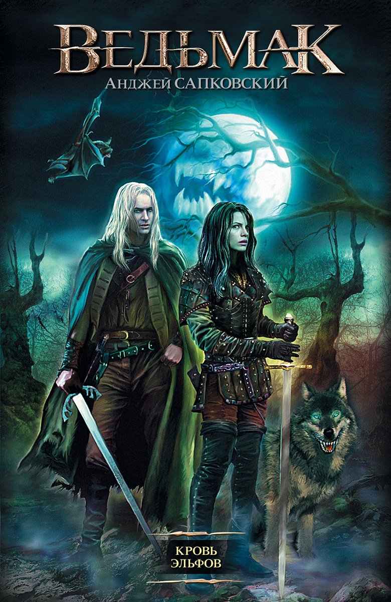 The Witcher: Blood Of Elves (Russian 2013 edition)