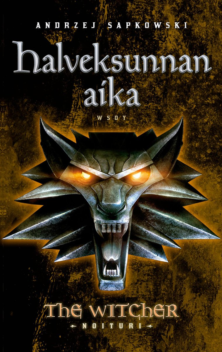 The Witcher: The Time Of Contempt (Finnish edition)