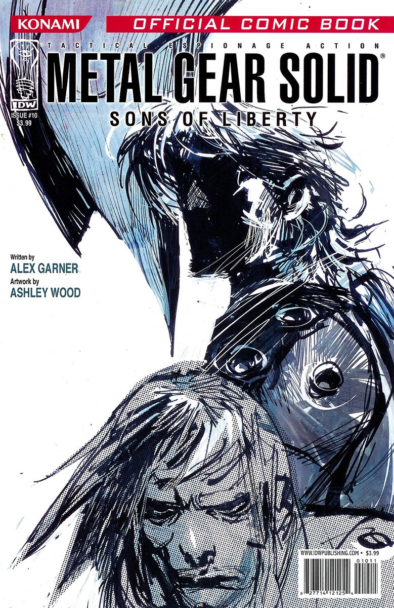 Metal Gear Solid: Sons Of Liberty Issue 10 (July 2007)