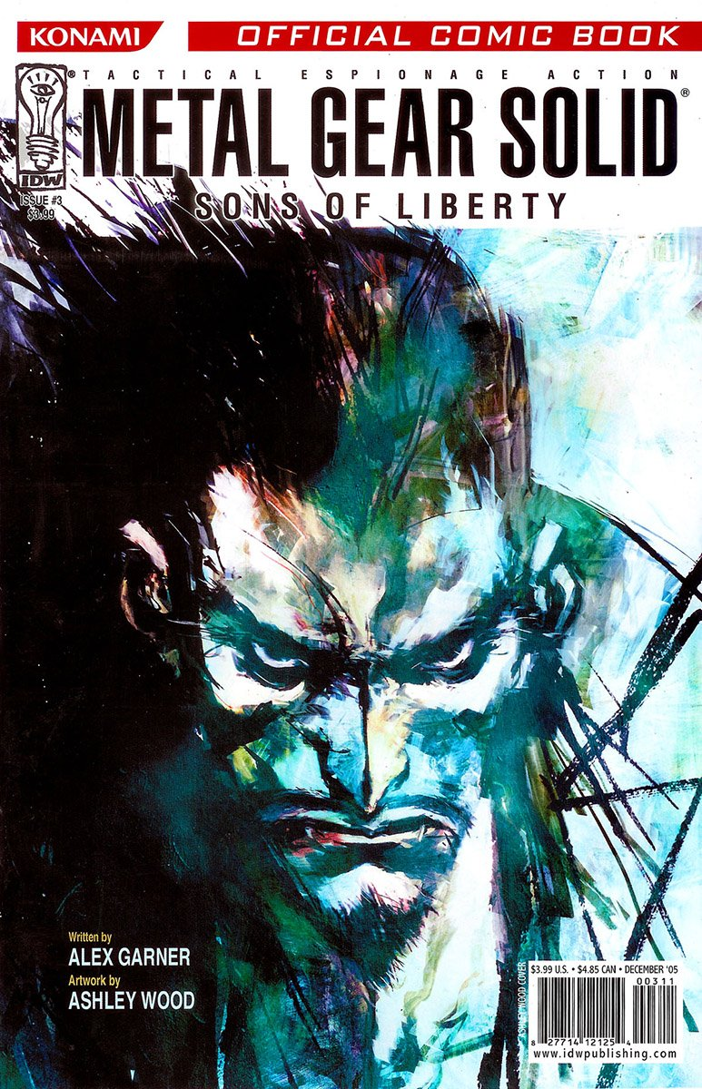Metal Gear Solid: Sons Of Liberty Issue 03 (cover b) (December 2005)