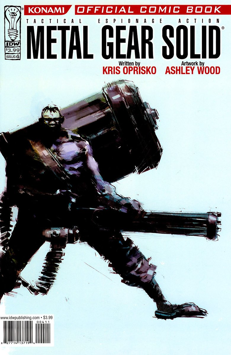 Metal Gear Solid Issue 04 (December 2004)
