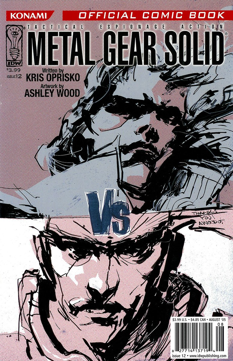 Metal Gear Solid Issue 12 (August 2005)