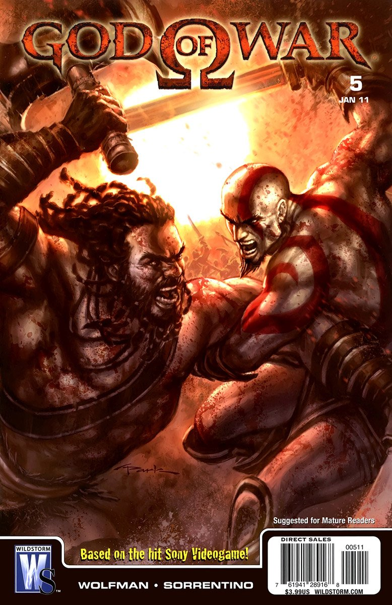 God Of War Issue 05 (January 2011)