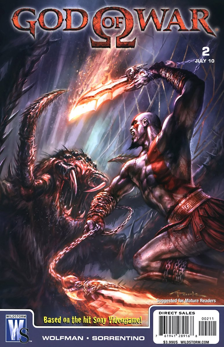 God Of War Issue 02 (July 2010)