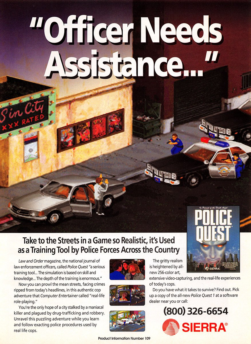 Police Quest (VGA remake)