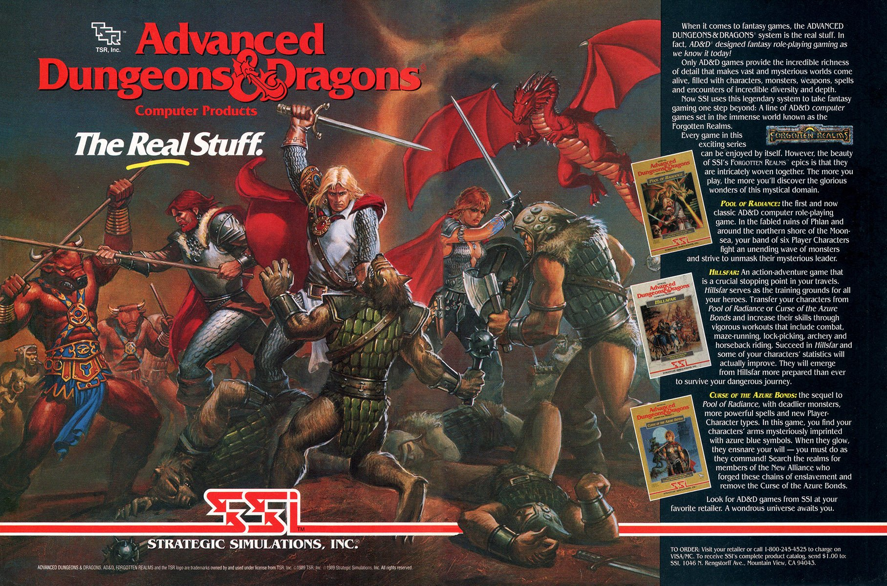 Advanced Dungeons & Dragons: Pool of Radiance, Hillsfar, Curse of the Azure Bonds