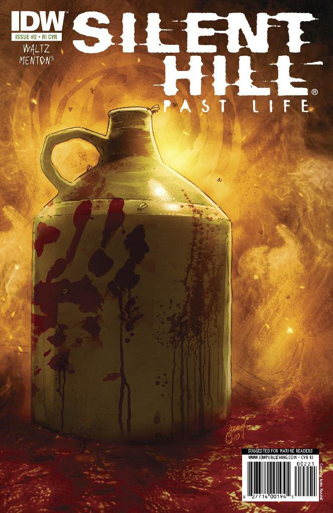 Silent Hill: Past Life 002 (cover b) (November 2010)