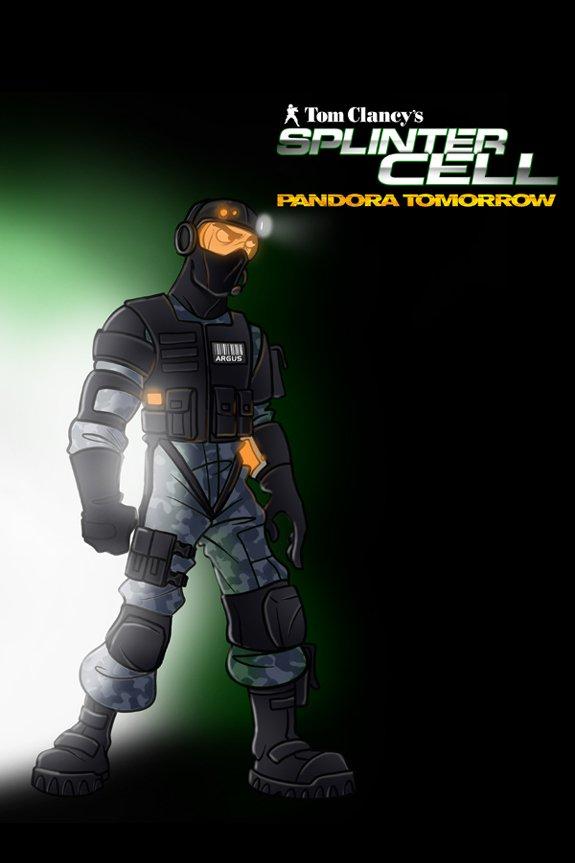 Tom Clancy's Splinter Cell: Pandora Tomorrow (cover 2)