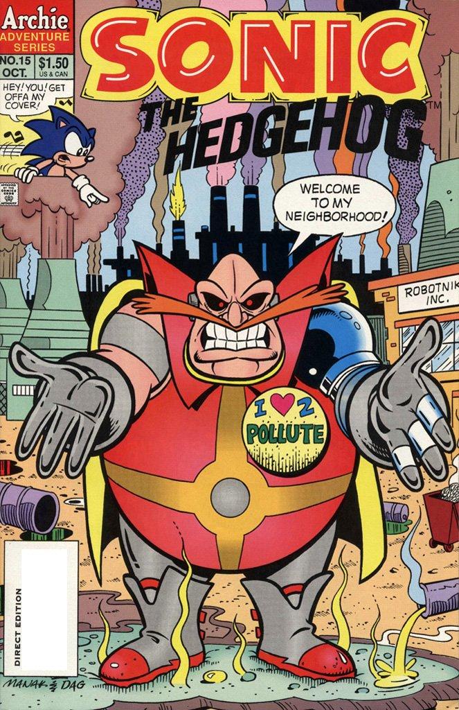 Sonic the Hedgehog 015 (October 1994)