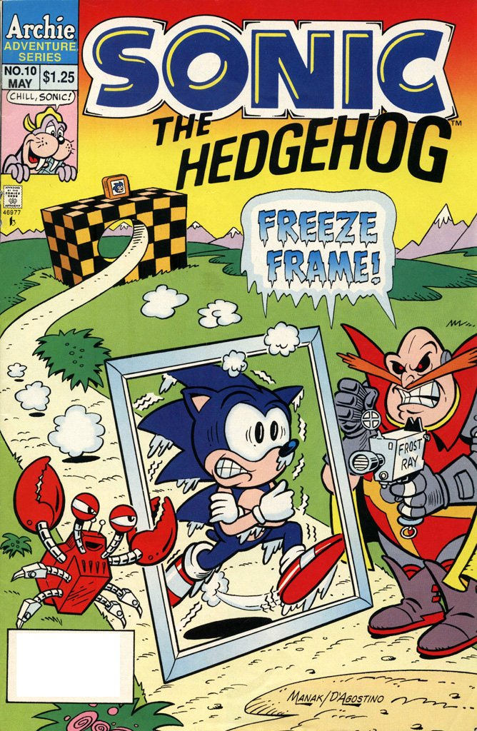 Sonic the Hedgehog 010 (May 1994)