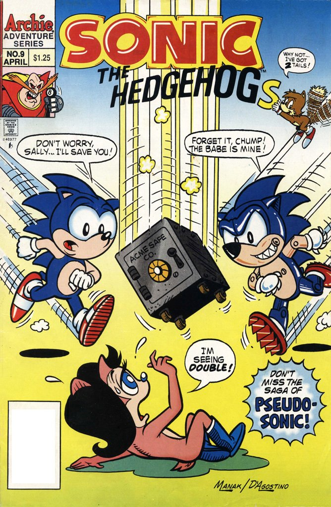 Sonic the Hedgehog 009 (April 1994)
