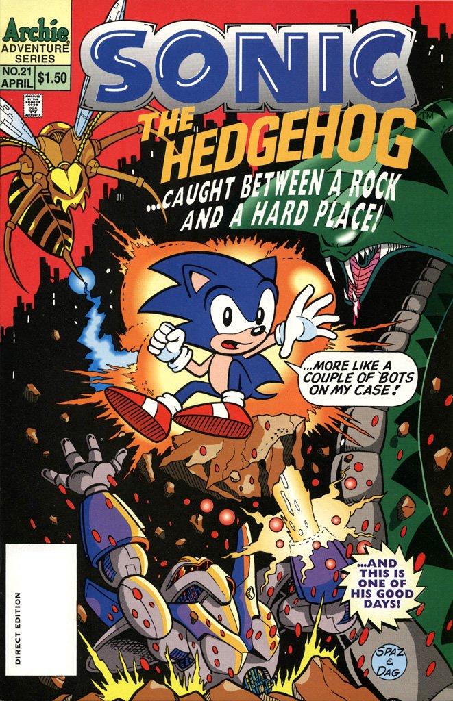Sonic the Hedgehog 021 (April 1995)