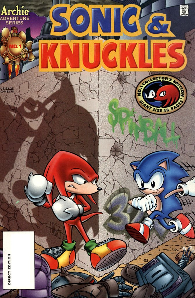 Sonic & Knuckles (August 1995)